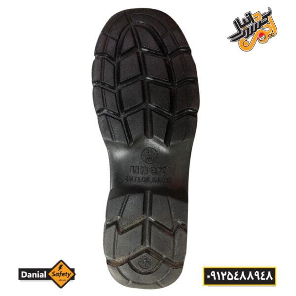 کفش ایمنی شهپر مدل کاپدار ساق کوتاه
