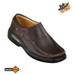کفش پرسنلی شهپر مدل چرمی 502