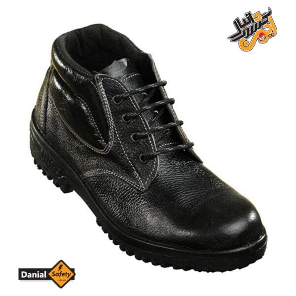 کفش ایمنی کارگاهی شهپر مدل پوتین زاگرس