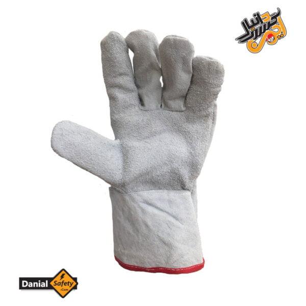 دستکش ایمنی هوبارت تمام چرم