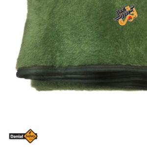 پتو مینک پشمی 150×220 سانتی متر رنگ سبز