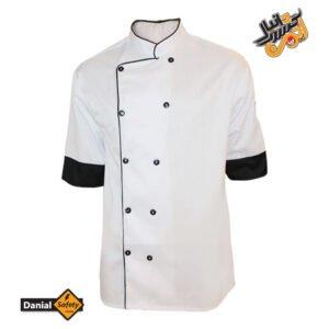 لباس کار آشپزی رنگ سفید