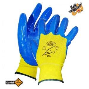 دستکش ایمنی استاد کار مدل Nitrile