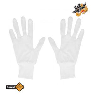 دستکش نخی ضد حساسیت بسته 10 جفتی