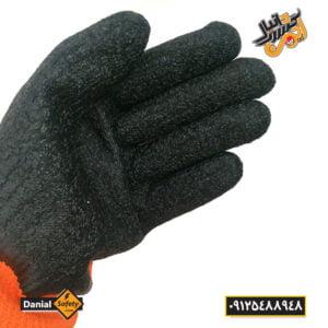 دستکش ایمنی کف مواد آنگونگ 2 جفتی
