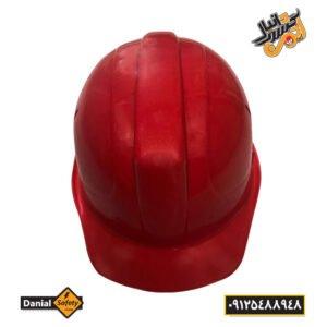 کلاه ایمنی کاترپیلار مدل دانیال رنگ قرمز