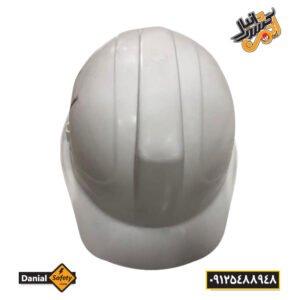 کلاه ایمنی کاترپیلار مدل دانیال رنگ سفید