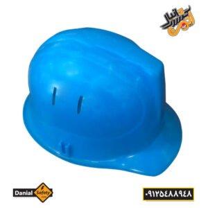 کلاه ایمنی کاترپیلار مدل دانیال رنگ آبی