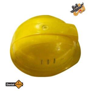 کلاه ایمنی کاترپیلار مدل دانیال رنگ زرد